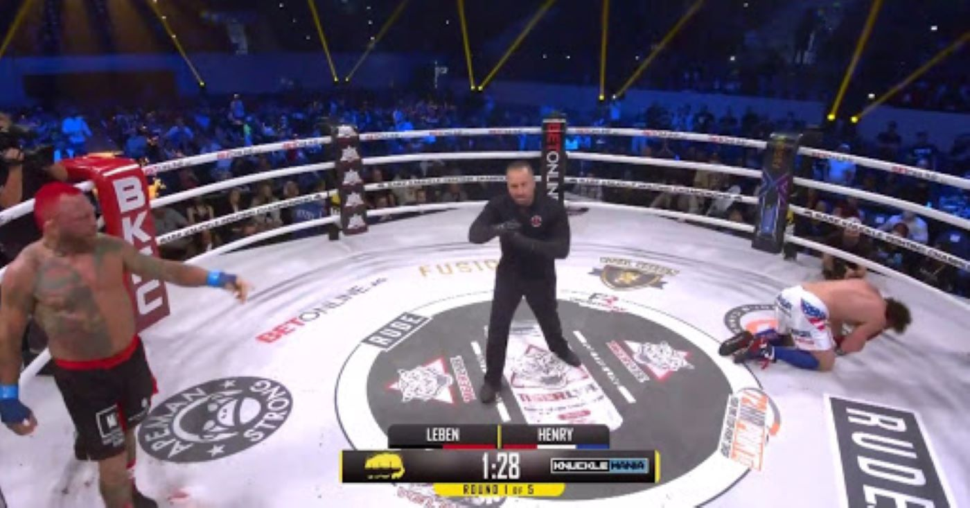 BKFC Knuckle Mania Results: Chris Leben Knocks Out Quentin Henry In The First Round!