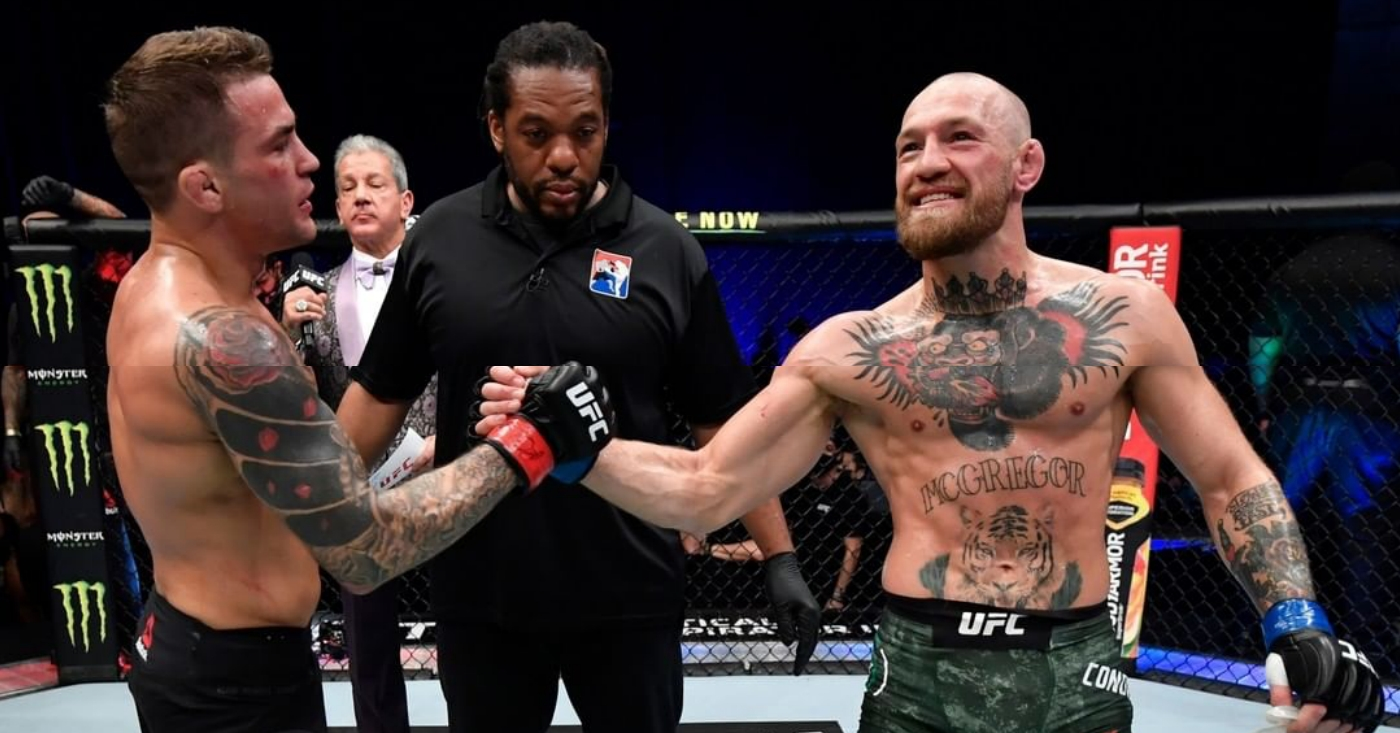 Dustin Poirier Teases Trilogy Fight With Conor McGregor