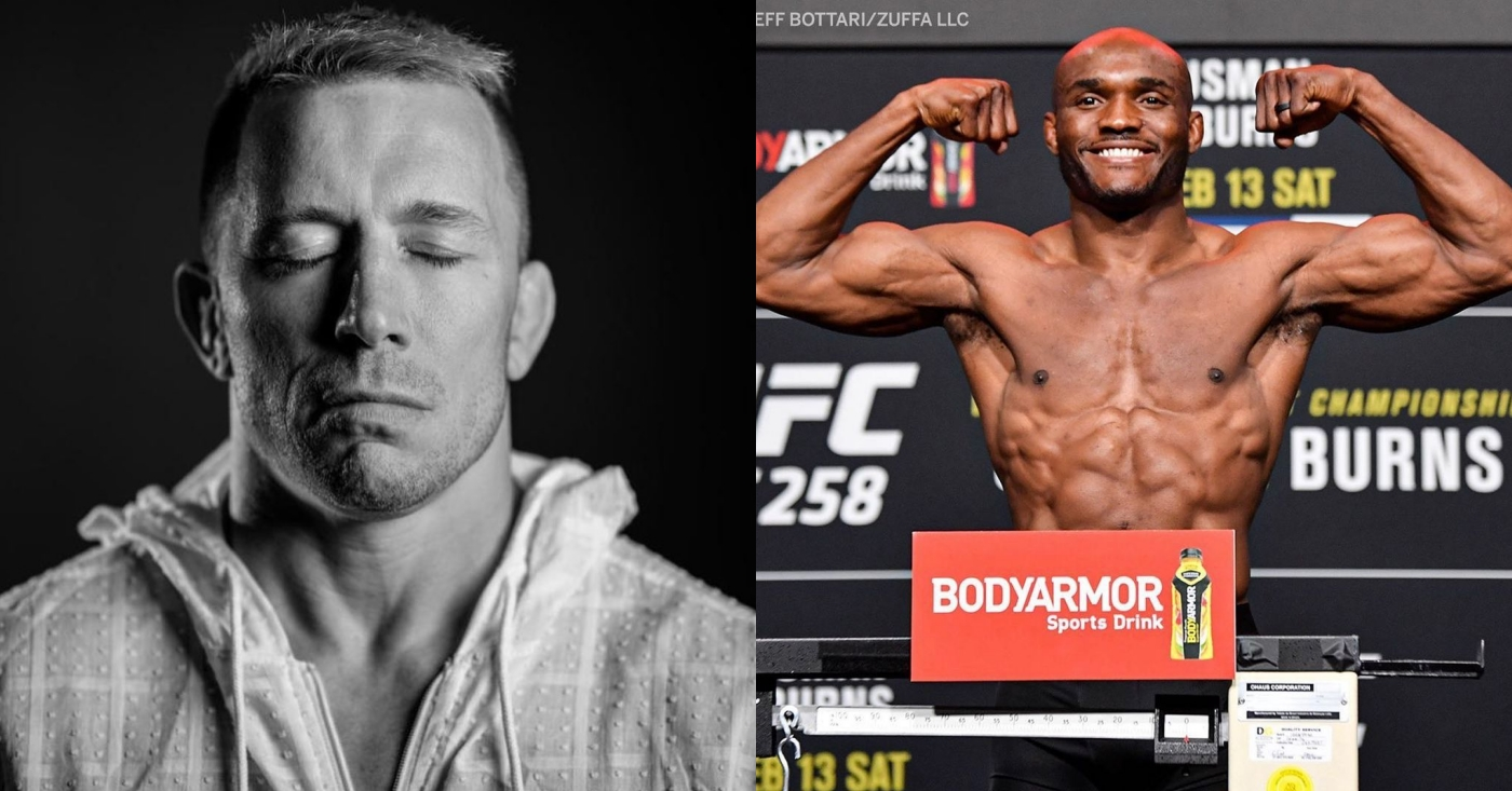 Georges St-Pierre: The Thought Of Beating Kamaru Usman 'Doesn't Get Me Motivated'