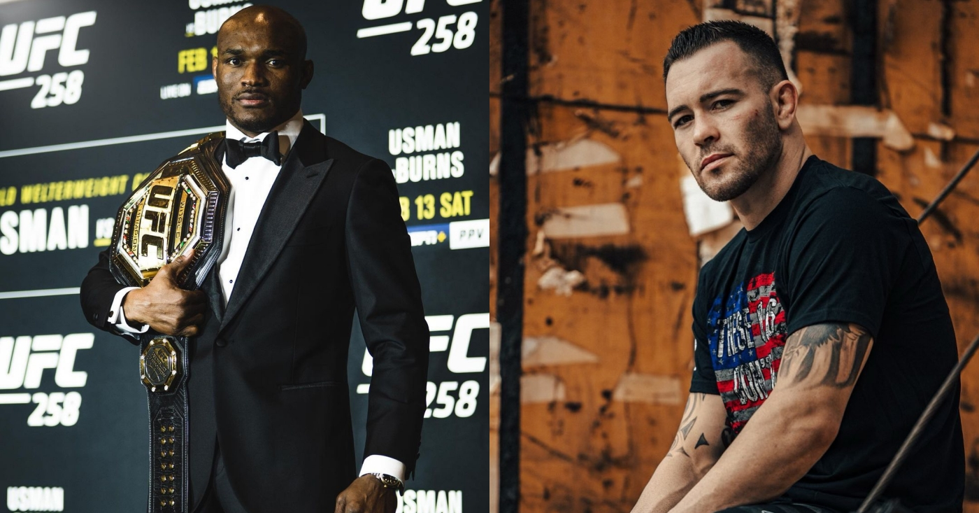 Kamaru Usman Rips 'Ridiculous' Colby Covington For 'Tremendous Mistake' Of Turning Down Leon Edwards Fight