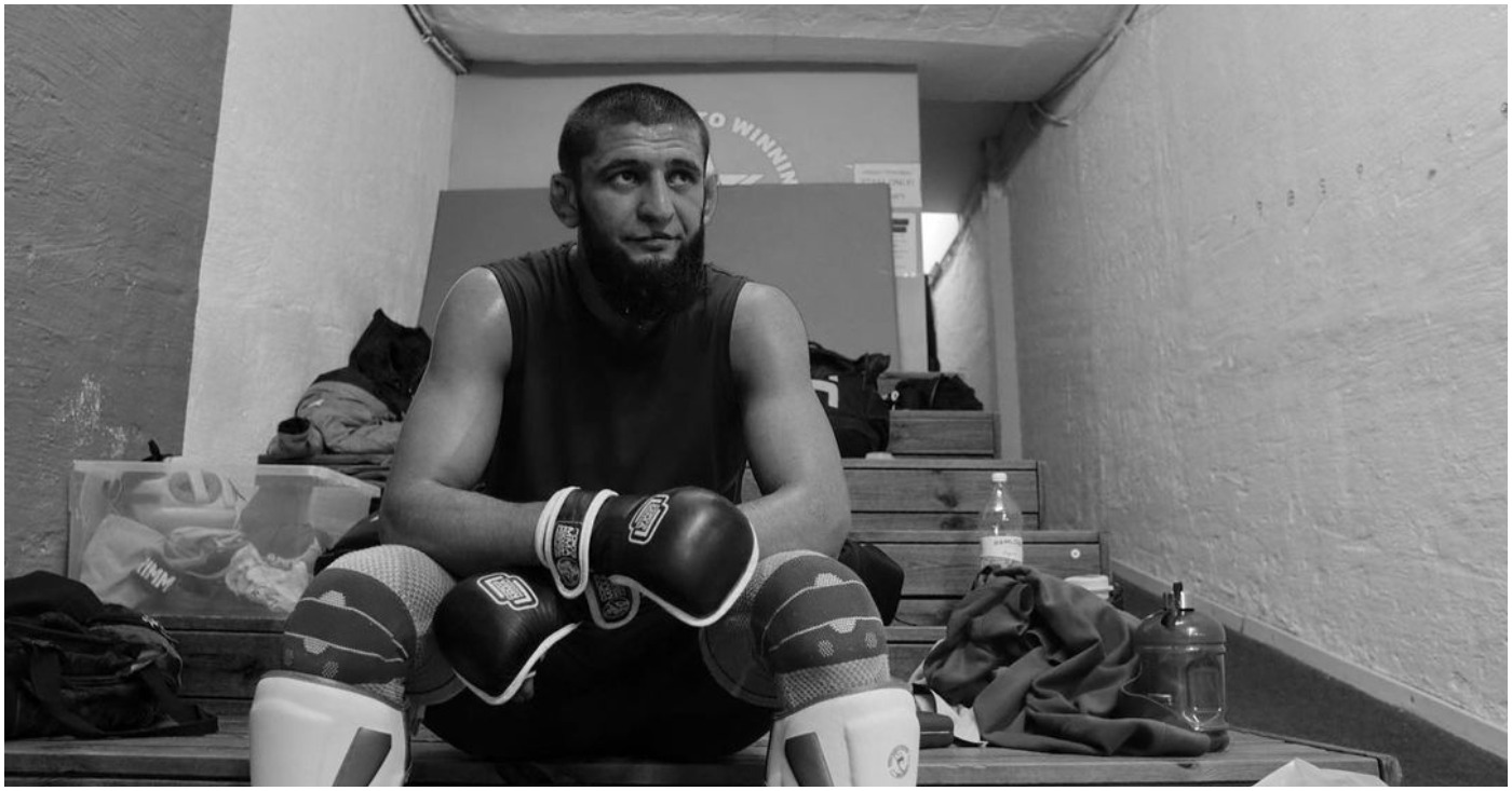 Khamzat Chimaev Out of Upcoming Leon Edwards Fight due to Covid-19 Complications
