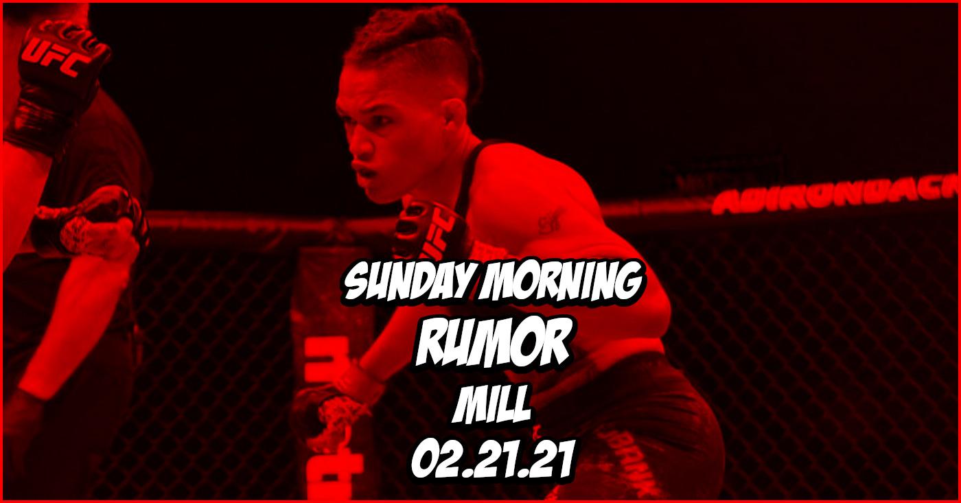 Usman Double Champ Quest, Sijara Eubanks Escapades, & More on the Sunday Morning Rumor Mill
