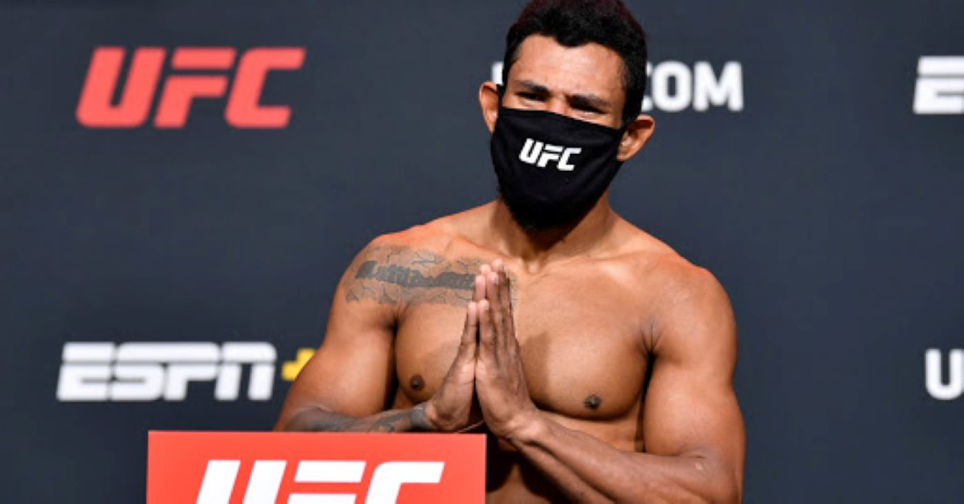 Rafael Alves Says Eating Salmon Played Role In Historic Weight Miss For His Fight At UFC Vegas 19