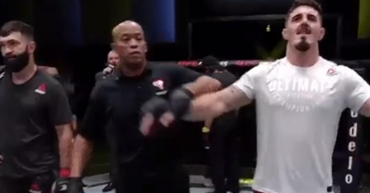 UFC Vegas 19 Results: Tom Aspinall Submits Andrei Arlovski (Highlights)