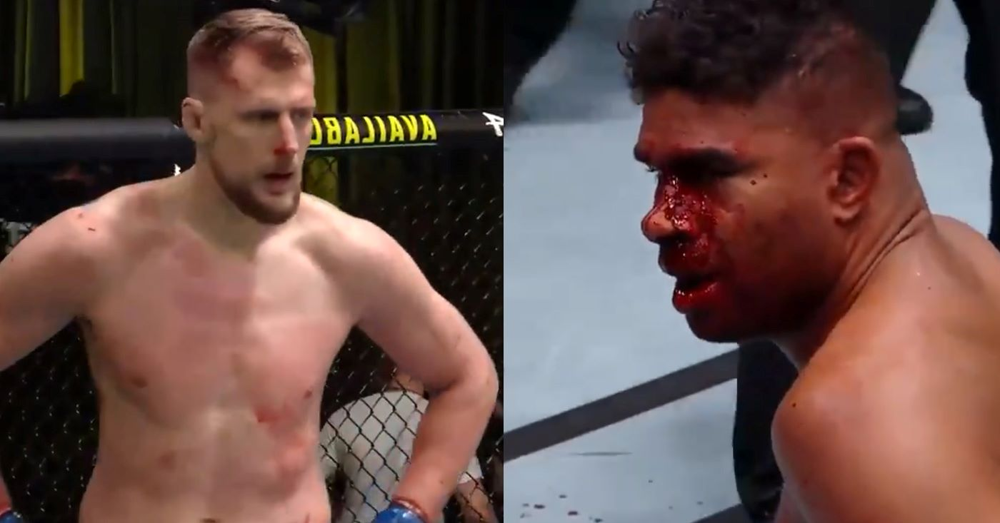 UFC Vegas 18 Results: Alexander Volkov TKO's Alistair Overeem In The 2nd Round (Highlights)