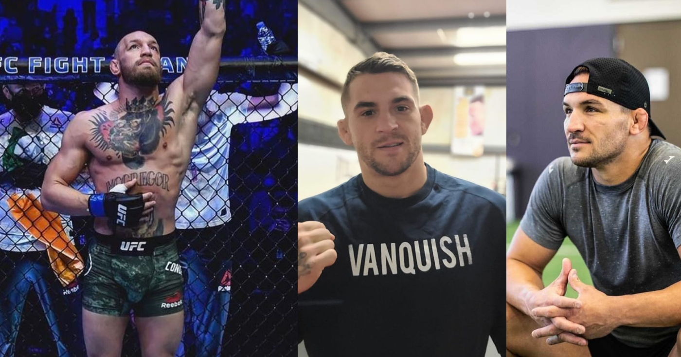 Conor McGregor Vows He Will Learn To Check Leg Kicks, Dustin Poirier and Michael Chandler Respond   MiddleEasy