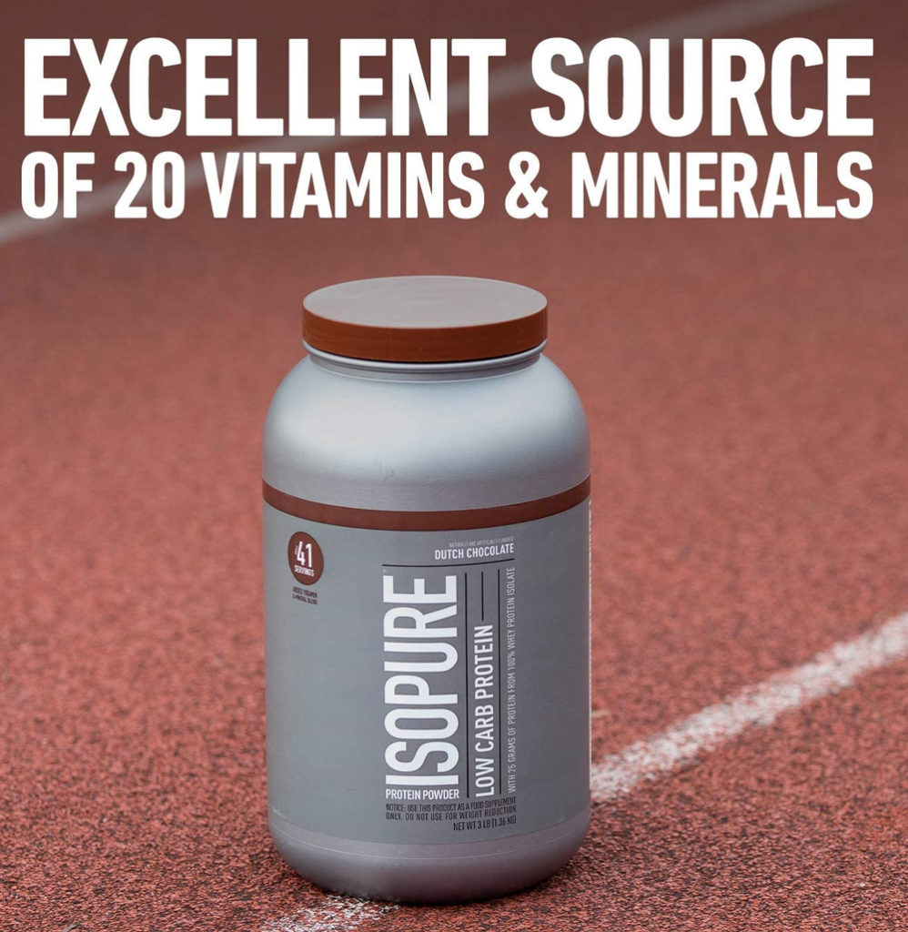 Isopure Carb Protein