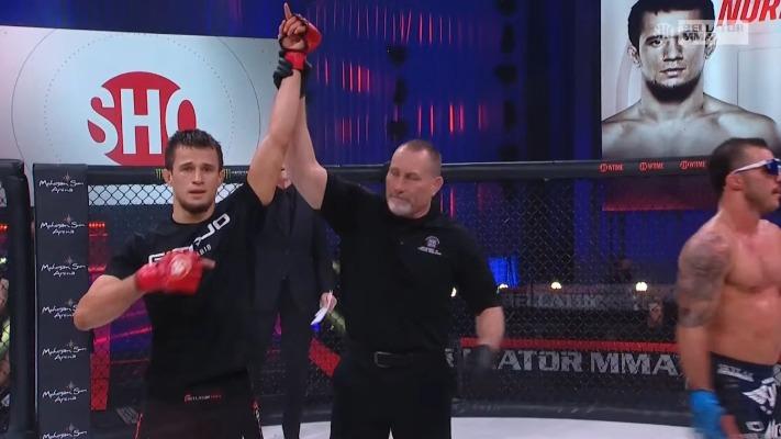 Usman Nurmagomedov Dominates Mike Hamel Over 3 Rounds- Bellator 255 Results (Highlights)