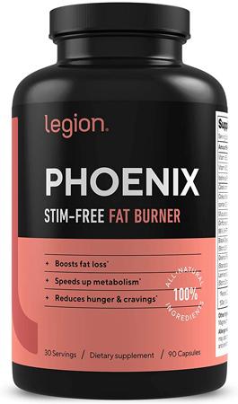 Legion Phoenix Thermogenic Fat Burners