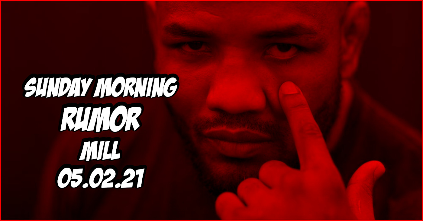 Yoel Romero Eye Injury, Next for Tyron Woodley, & More on the Sunday Morning Rumor Mill