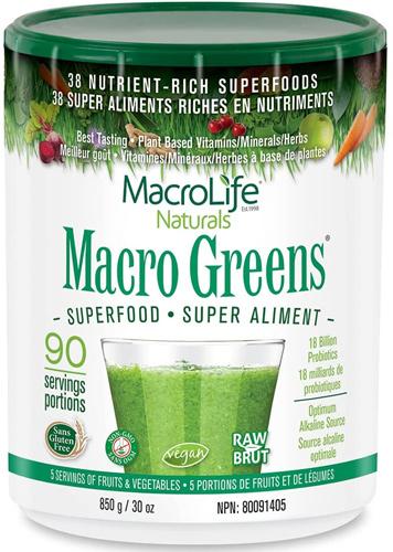 MacroLife Naturals Macro Greens Powder