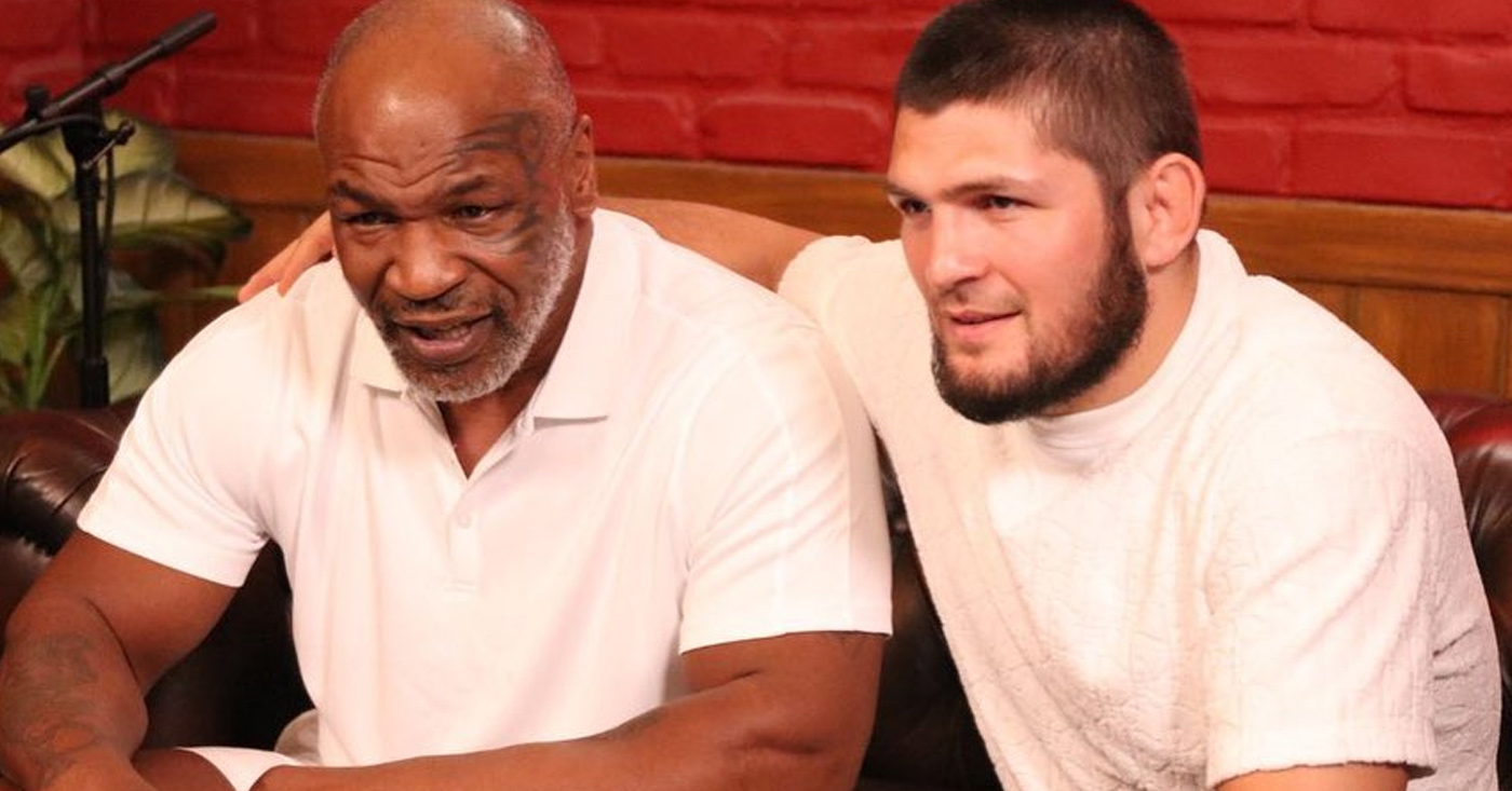 """Khabib Wishes he Had Mike Tyson's Boxing Skills and Power: """"I wish but not like him in boxing"""""""